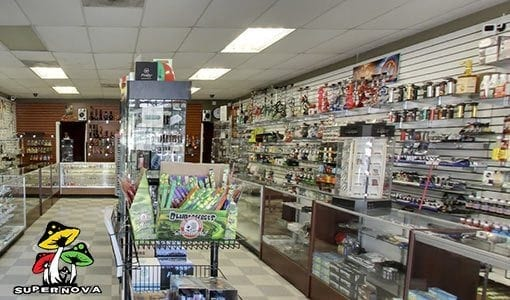 Photo of the interior of Supernova Smoke Shop #2