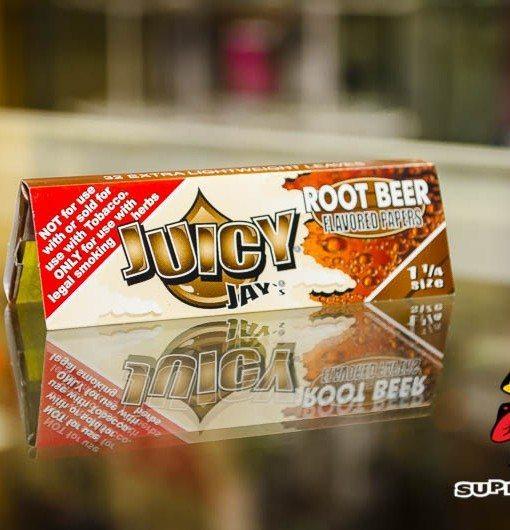 Root Beer Flavor Juicy Jay Rolling Papers