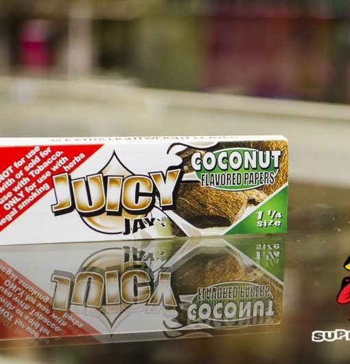 Coconut Flavor Juicy Jay Rolling Papers