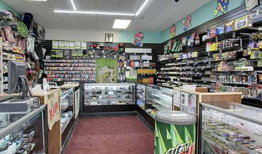 Photo of the interior of Supernova Smoke Shop #3