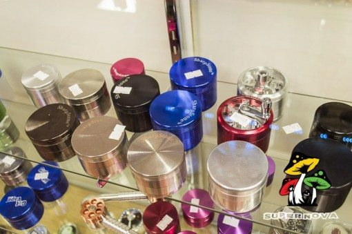 Sharp Stone Herb Grinders Available at Supernova Smoke In San Antonio Texas