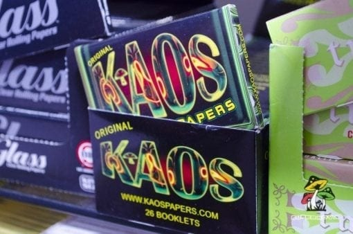 Kaos Papers at Supernova Smoke Shop