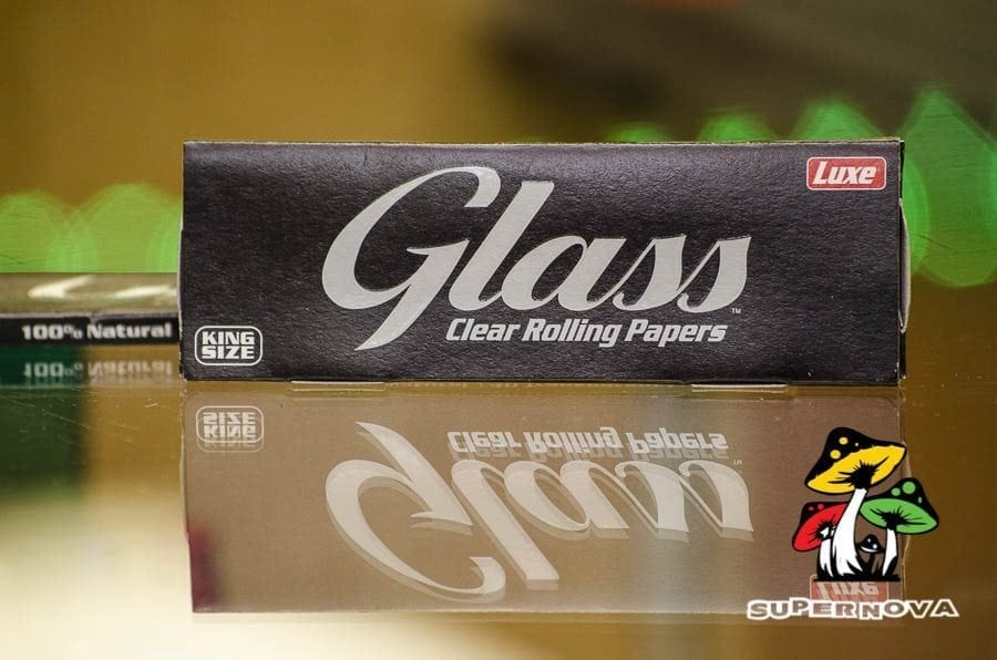 Glass Clear Rolling Papers