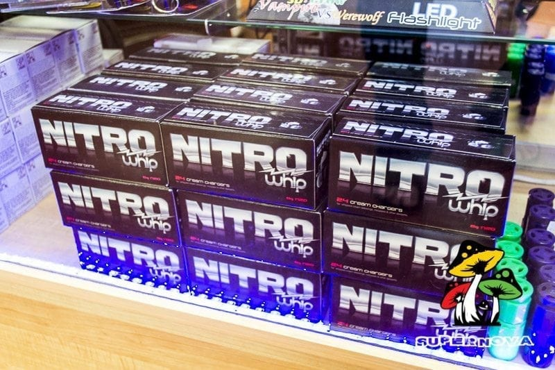 Nitro Whip Cream Chargers at Supernova Smoke Shop