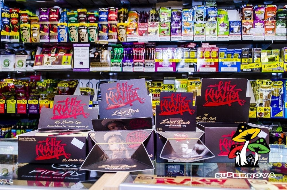 Wiz Khalifa Papers And Smoking Accessories In San Antonio