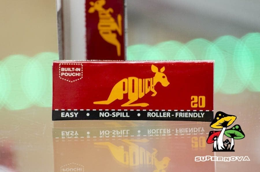 Pouch Rolling Papers - Not Made of Actual Kangaroo