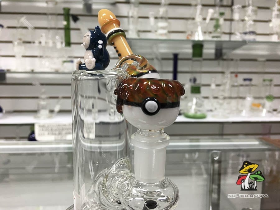 Pokemon Style Dry Herb Waterpipe