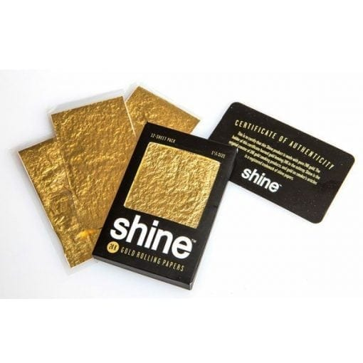 Shine Rolling Papers Pack