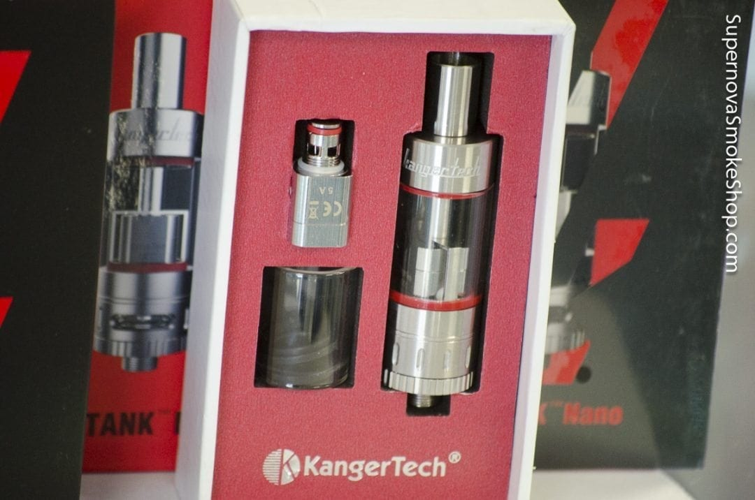 Kangertech SubTank in Box Close-Up