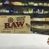 RAW One Meter Hemp Wick