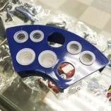 Photo of an Ink Cap Tray for Tattoo Inks.