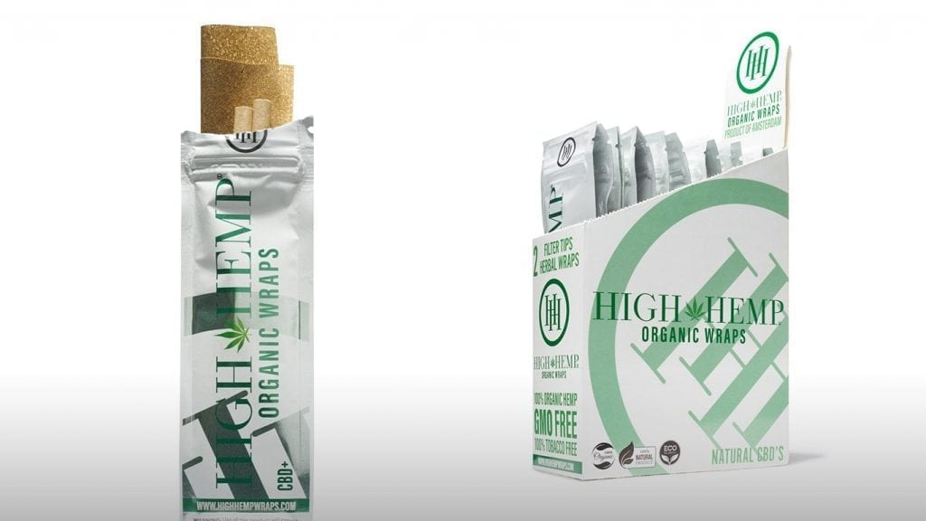High Hemp Herbal Vegan Tobacco Free Wraps