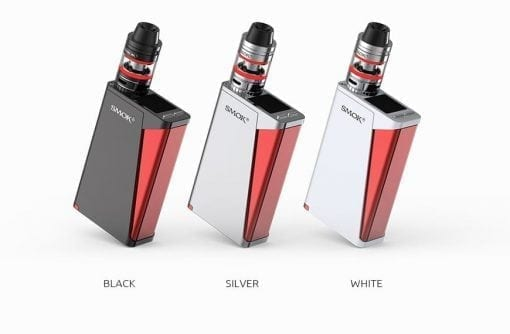 Black Silver and White Smok H-Priv Kits