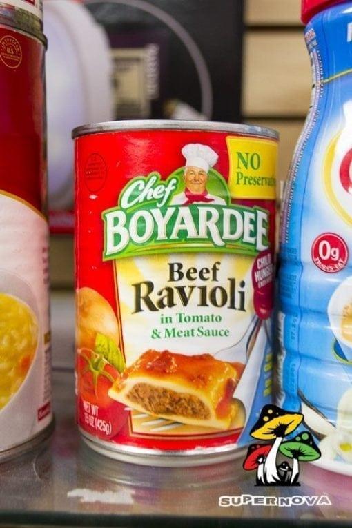 Chef Boyardee Secret Stash Can