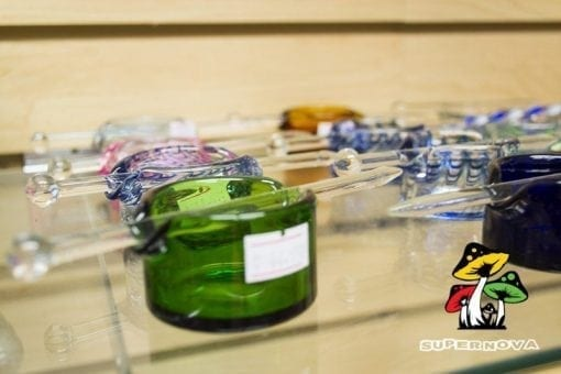 Concentrate Dish with Glass Poker
