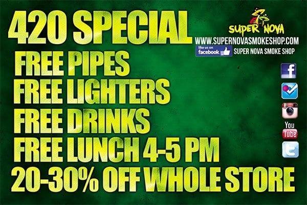 Supernova Smoke 420 Party!