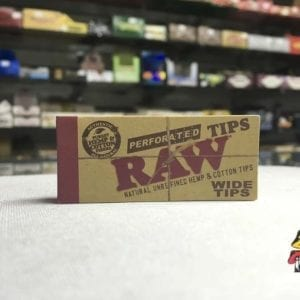 Photo of RAW Wide Preforated Tips