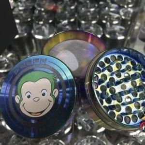 Photo of Green Monkey Tempered Metal Premium Herb Grinders