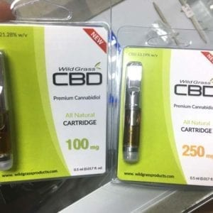 Wild Grass Brand Premium CBD Cartridges