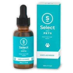 Unflavored Select CBD Pet CBD Tincture