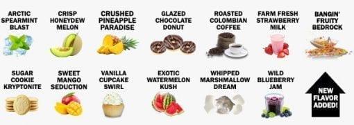Hemp Bomb CBD Flavors