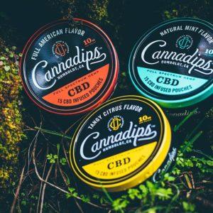 Cannadip CBD Dip Pouches