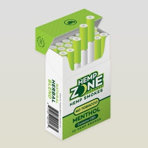 Hemp Zone Menthol CBD Hempettes